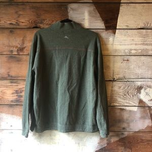 Tommy Bahama Sweaters - Tommy Bahama Large Quarter Sip Pullover Green